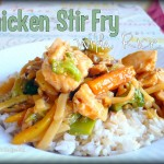 Stir Fry Chicken and Rice