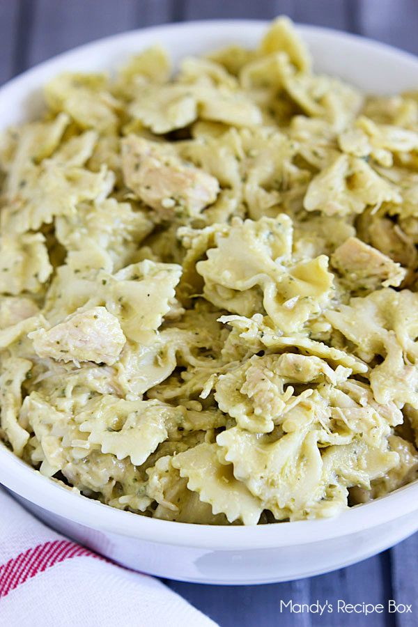 Creamy Pesto and Chicken