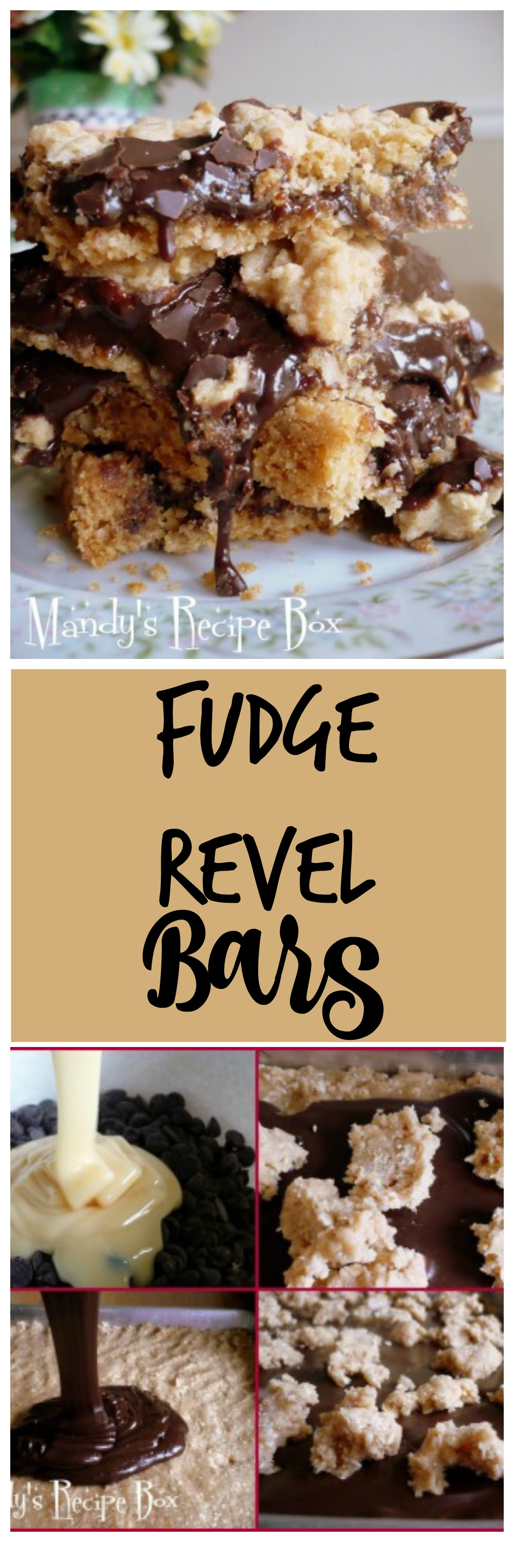 Fudge Revel Bars