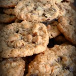Peanut Butter & Chocolate Chip Oatmeal Cookies