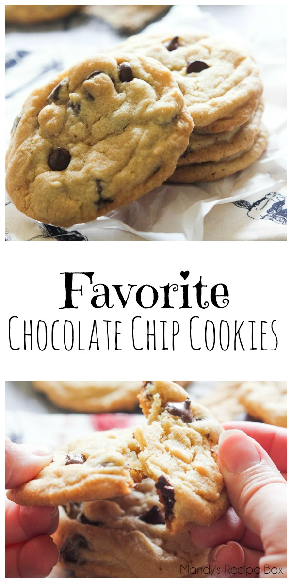 Favorite Chocolate Chip Cookies.