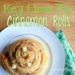 Key Lime Pie Cinnamon Rolls & A Giveaway!
