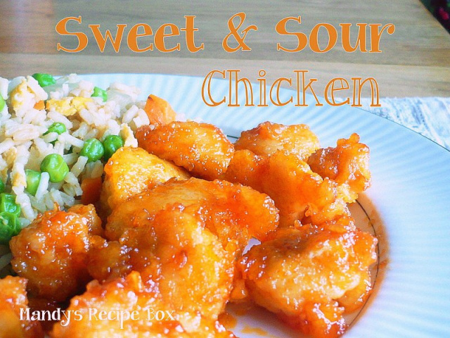 Sweet and Sour Chicken | Mandy's Recipe Box
