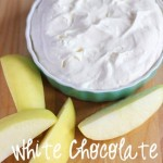 White Chocolate Fruit Dip {and Pie Filling}