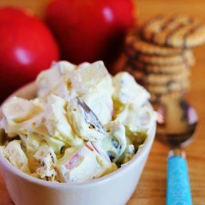 Cookies N' Fruit Pudding Salad
