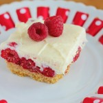 Raspberry Pudding Bars