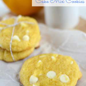 Lemon Cake Mix Cookies {Guest Blogger: Crazy For Crust}