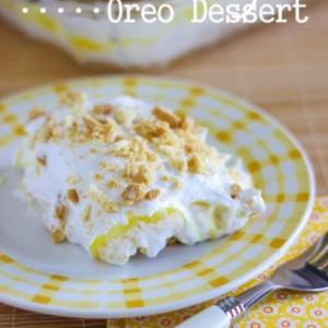 Lemon Heavenly Oreo Dessert