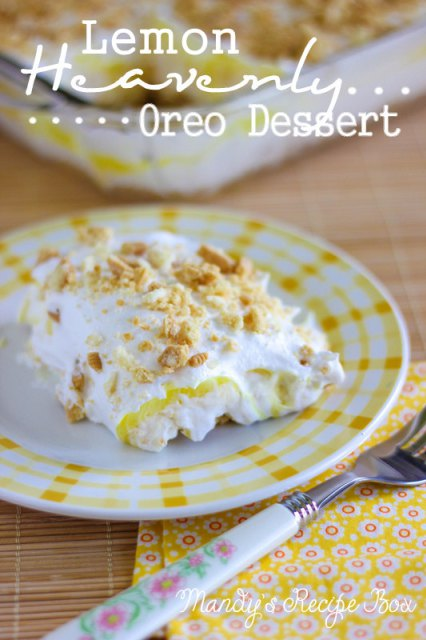 Lemon Heavenly Oreo Dessert