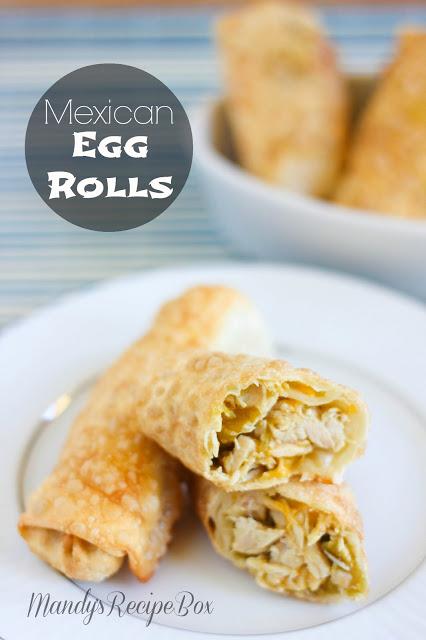 Mexican Egg Rolls
