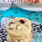 Strawberries 'N Cream Cookies