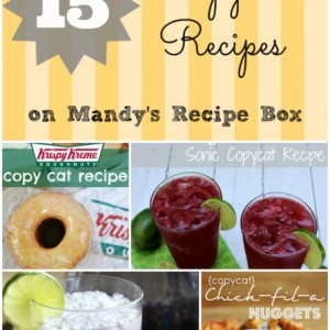 15 Copycat Recipes