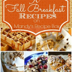 30 Fall Breakfast Recipes