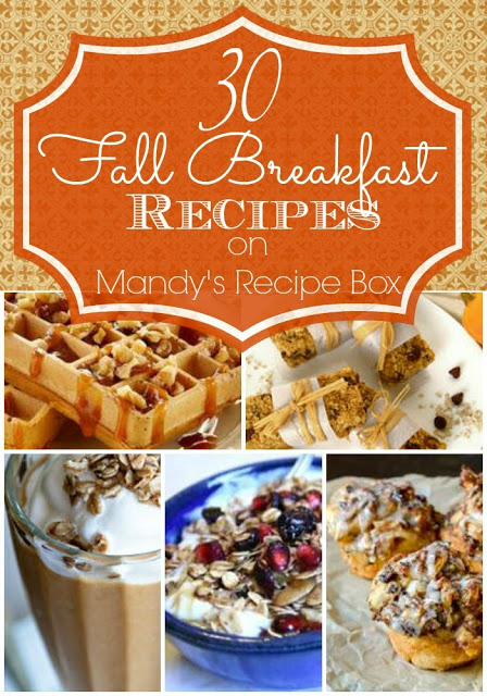30 Fall Breakfast Recipes