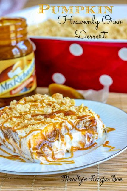 Pumpkin Heavenly Oreo Dessert