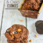 Chocolate Peanut Butter and Oreo Cookies