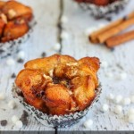 Mini Monkey Bread with Chocolate Chips & Marshmallow Bits