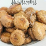 Garlic and Parmesan Mushrooms