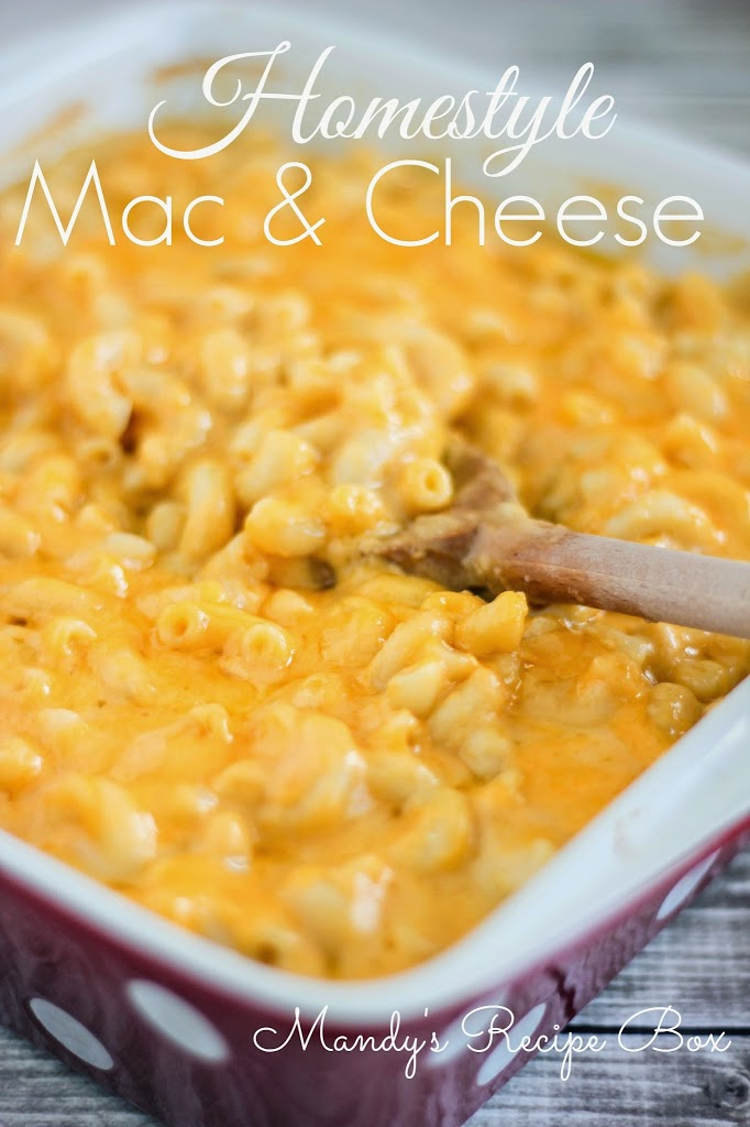 Home Style Macaroni And Cheese Recipe — Dishmaps