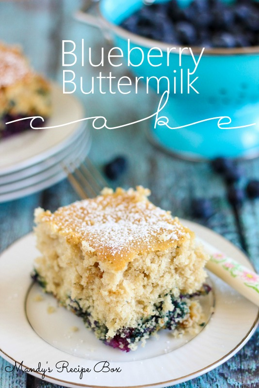 Blueberry Buttermilk Cake | Mandy's Recipe Box