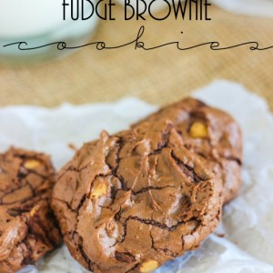 Fudge Brownie Cookies