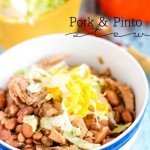 Slow Cooker Pork & Pinto Stew