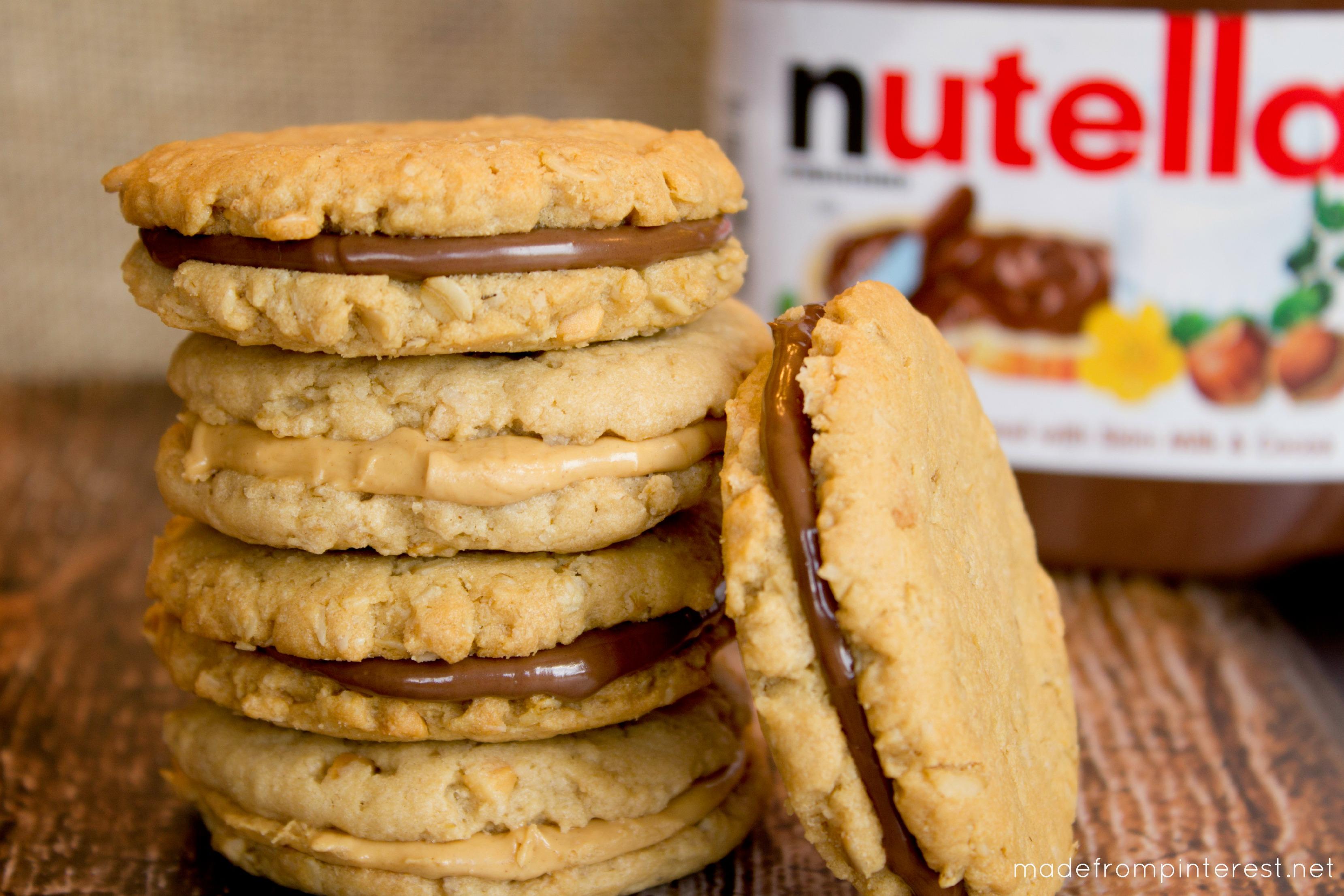 Peanut Butter Oatmeal Sandwich Cookies | Mandy's Recipe Box