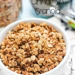 Cinnamon Granola {Slow Cooker Recipe}