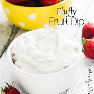 Fluffy Fruit Dip Recipe