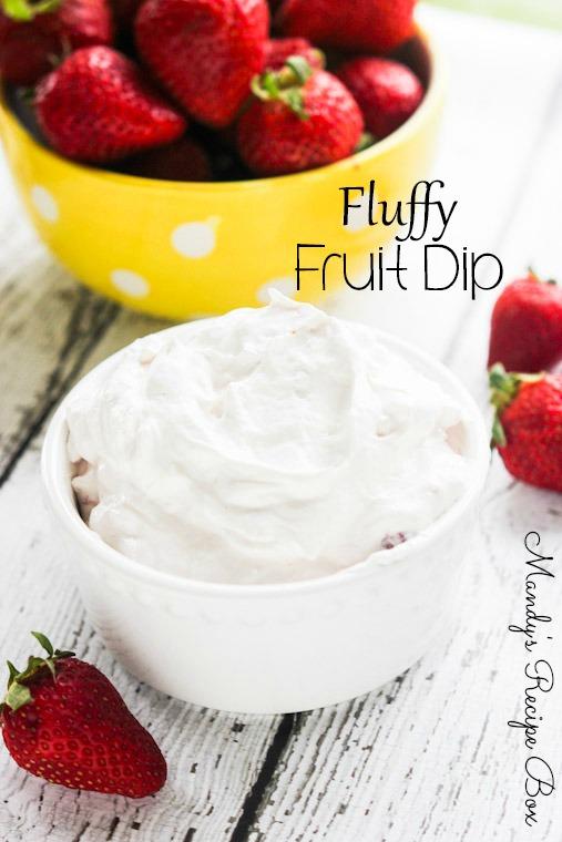 Fluffy Fruit Dip Recipe Mandy S Recipe Box