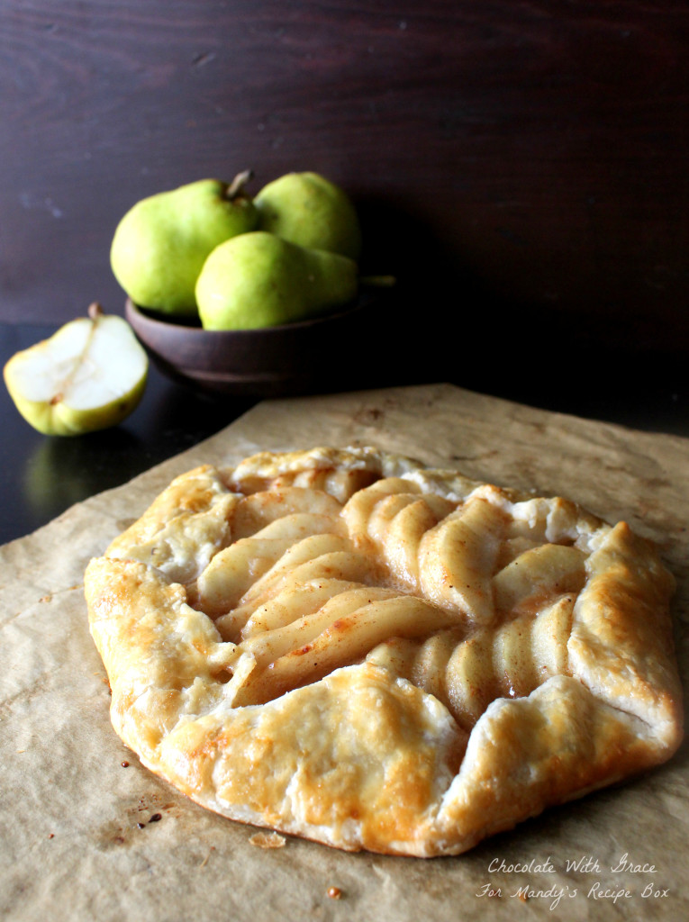 Caramel Pear Tart | Mandy's Recipe Box