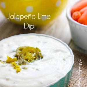 Jalapeno Lime Dip