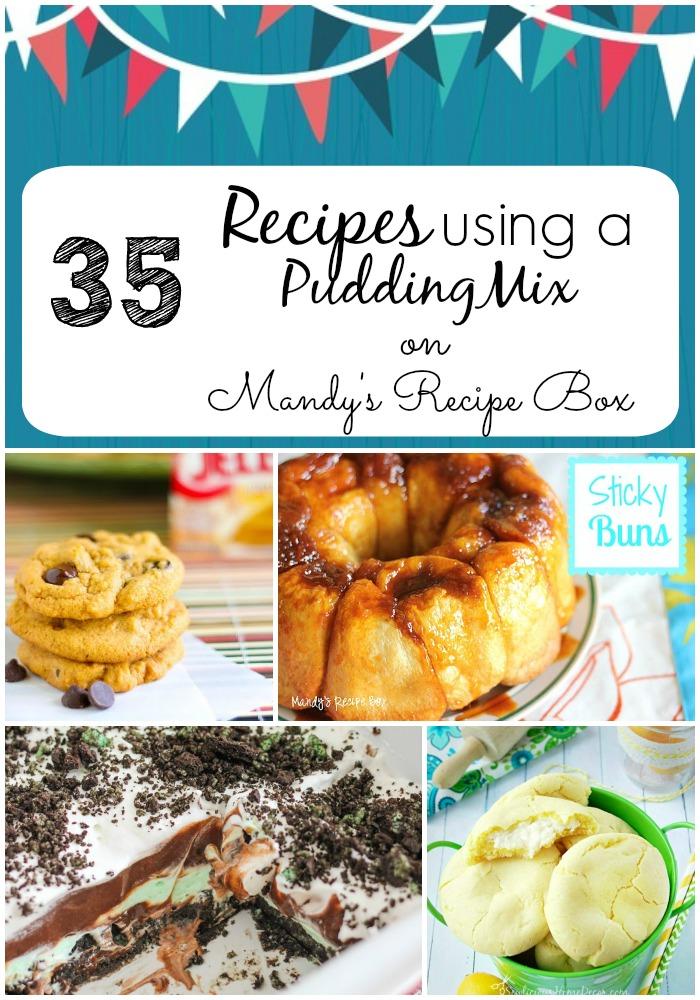 35 Recipes using a Pudding Mix