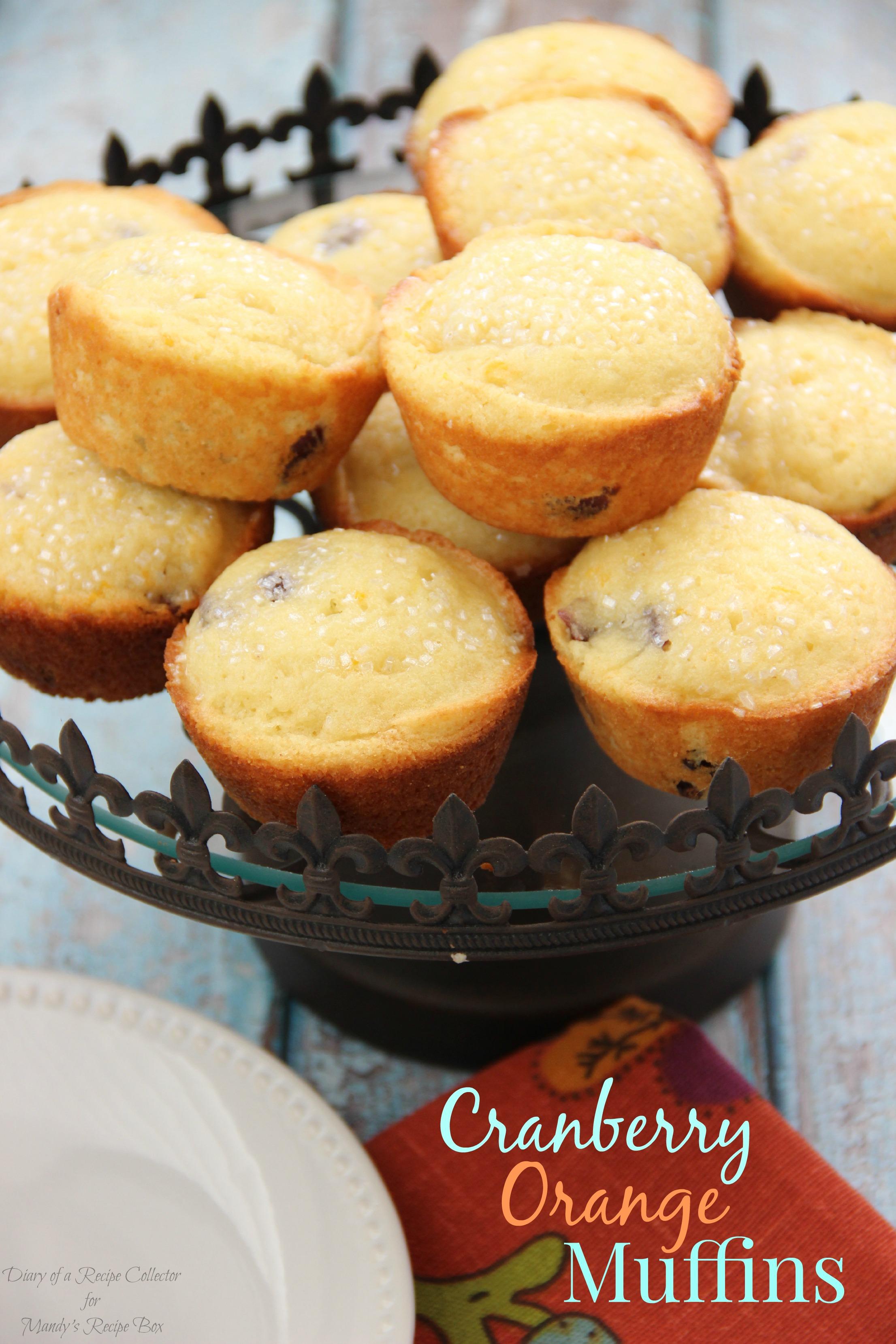 Cranberry Orange Muffins   Mandy's Recipe Box