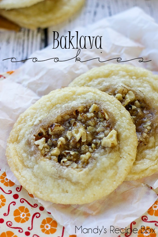 Baklava Cookies | Mandy's Recipe Box