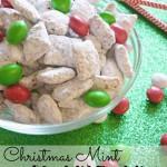 Christmas Mint Muddy Buddies