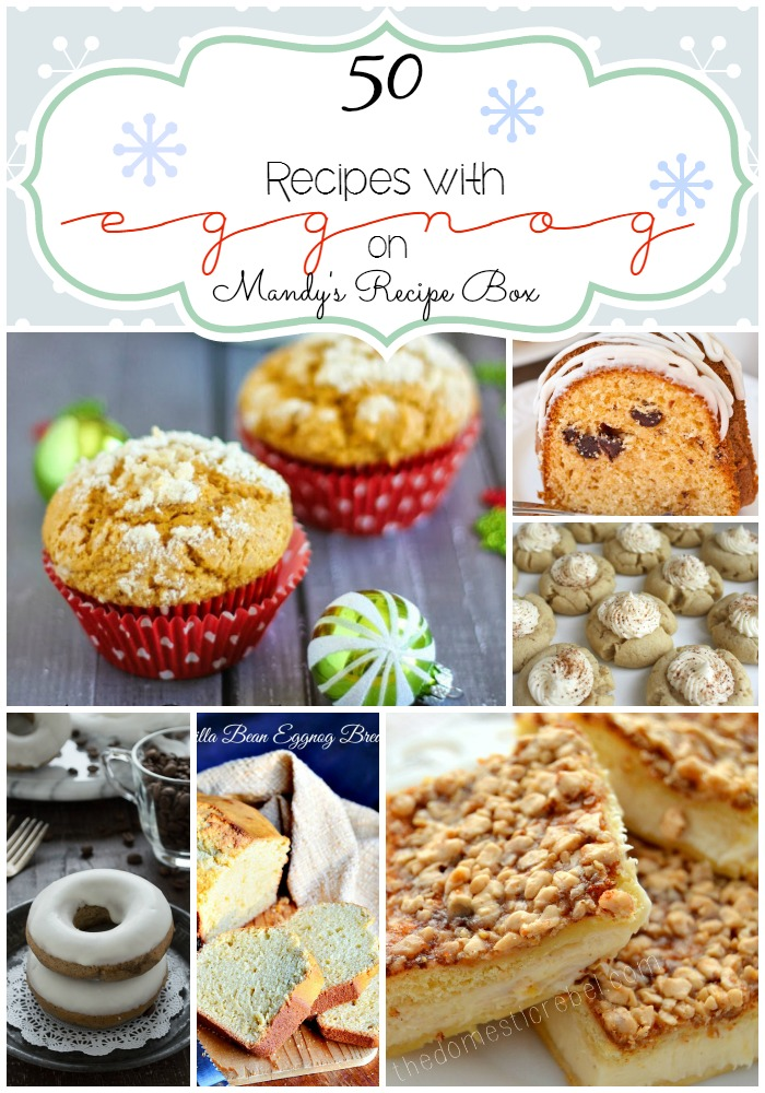 50 Recipes with Eggnog