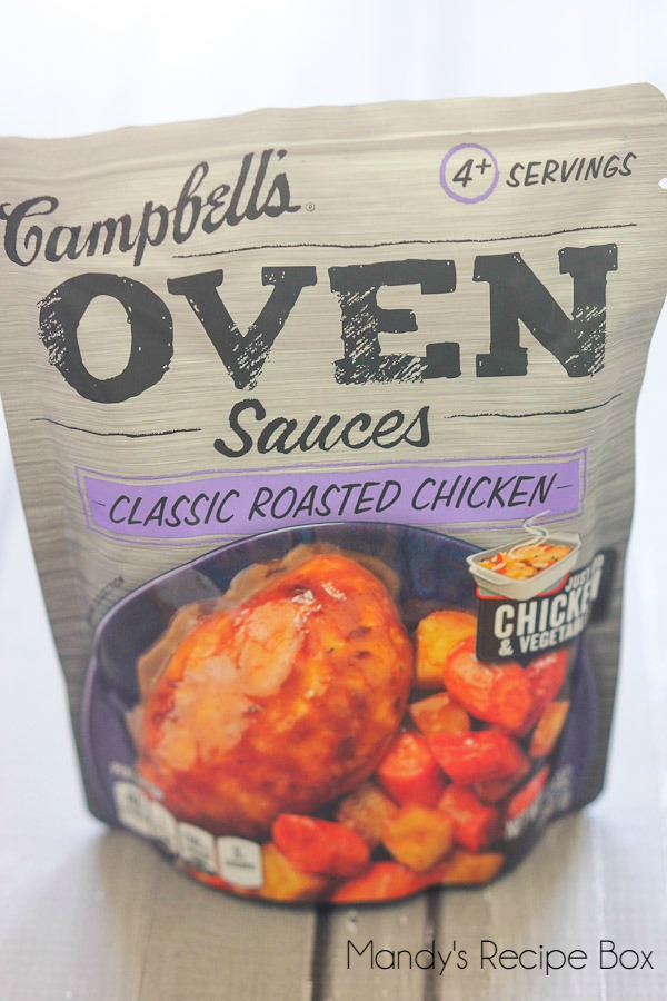 Campbell's Oven Sauces #CampbellsSauces