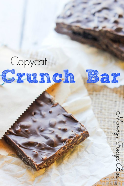 Copycat Crunch Bar Recipe