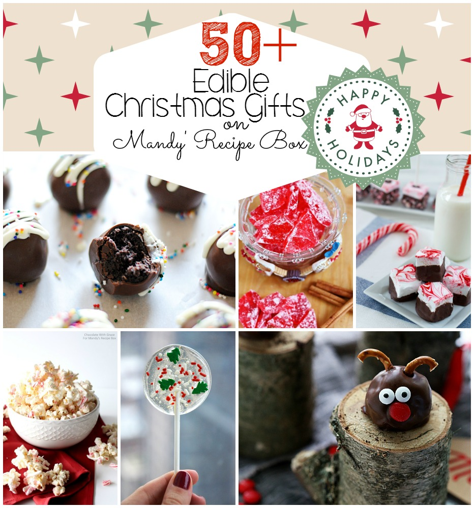 50+ Edible Christmas Gifts
