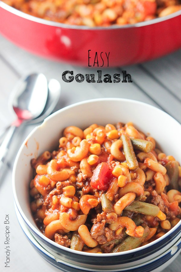 Easy Goulash