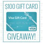 $100 VISA Gift Card Giveaway!