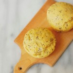Greek Yogurt Lemon Poppy Seed Muffins