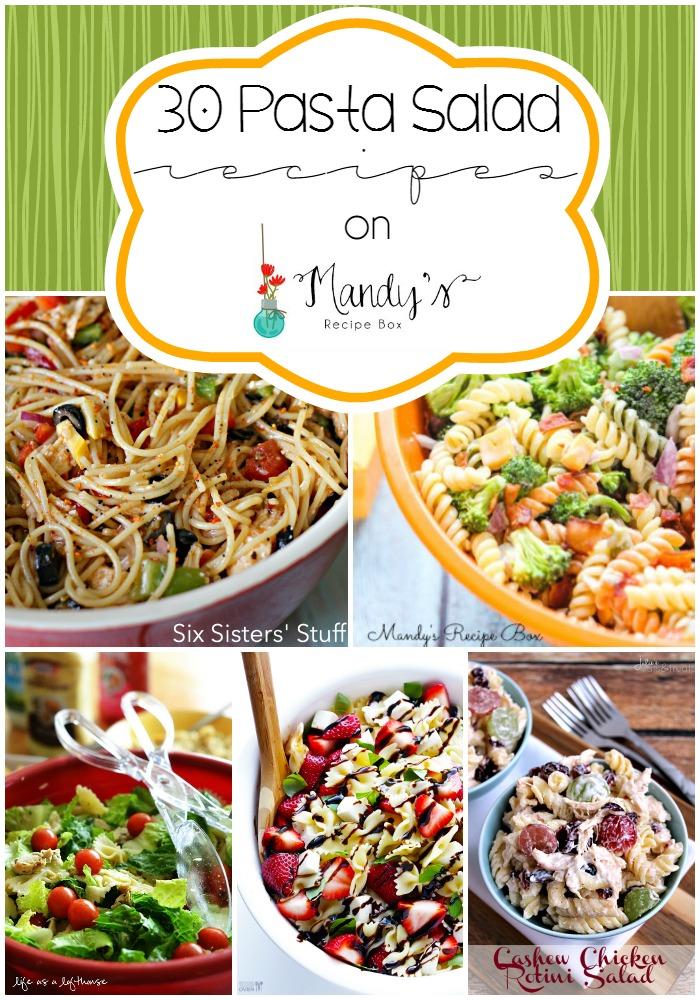 30 Pasta Salad Recipes