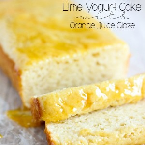 Lime Yogurt Cake Recipe