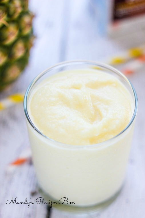 Piña Colada Smoothie by Mandy's Recipe Box