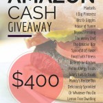 $400 Amazon Giveaway