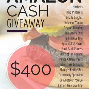 $400 Amazon Giveaway