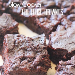Hot Fudge Brownies… A Slow Cooker Recipe