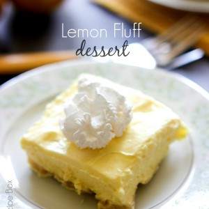 Lemon Fluff Dessert